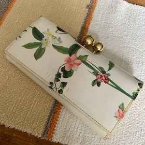 Ted Baker floral wallet Bobble Matinee Wallet